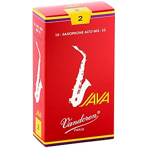 Vandoren-Java-Red-Alto-Saxophone-Reeds-Strength-2--Box-of-10