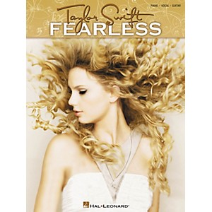 Hal-Leonard-Taylor-Swift---Fearless-Songbook-for-Piano--Vocal--and-Guitar-Standard