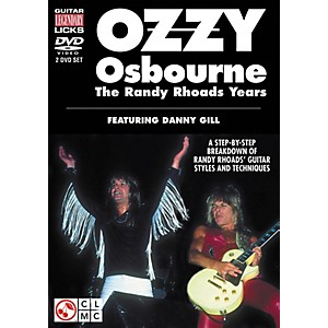 Cherry-Lane-Ozzy-Osbourne--The-Randy-Rhoads-Years---Legendary-Guitar-Licks--2-DVD-Set--Standard