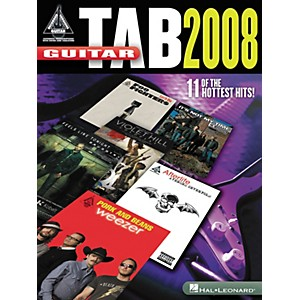 Hal-Leonard-Guitar-Tab-2008---Guitar-Recorded-Version-Series--Songbook--Standard