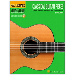 Hal-Leonard-Classical-Guitar-Pieces---The-Guitar-Method-Supplement--Book-CD--Standard