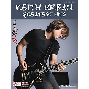 Cherry-Lane-Keith-Urban--Greatest-Hits--Piano-Vocal-Guitar-Songbook--Standard