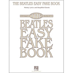 Hal-Leonard-The-Beatles-Easy-Fake-Book-Standard