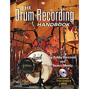 Hal-Leonard-The-Drum-Recording-Handbook---Music-Pro-Guides--Book-DVD--Standard