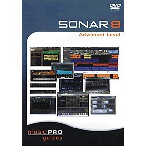 Hal-Leonard-SONAR-8-Advanced-Level---Music-Pro-Guides-Series--DVD--Standard