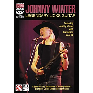 Cherry-Lane-Johnny-Winter-Legendary-Licks-Guitar-DVD--Featuring-Johnny-Winter--Standard