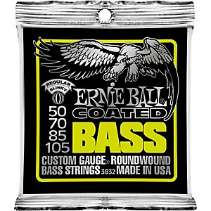 Ernie-Ball-3832-Coated-Bass-Strings---Slinky-Standard