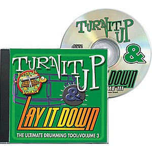 Drum-Fun-Inc-Turn-It-Up-and-Lay-It-Down--Volume-3---Rock-It-Science---Play-Along-CD-for-Drummers-Standard