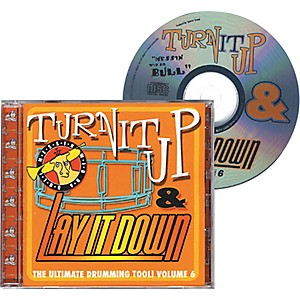 Drum-Fun-Inc-Turn-It-Up-and-Lay-It-Down--Volume-6---Messin--Wid-Da-Bull---Play-Along-CD-for-Drummers-Standard