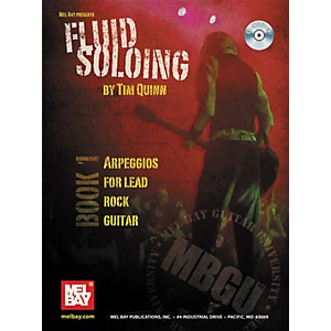 Mel-Bay-Rock-Curriculum--Fluid-Soloing-Book-1---Arpeggios-for-Lead-Rock-Guitar--Book-CD--Standard