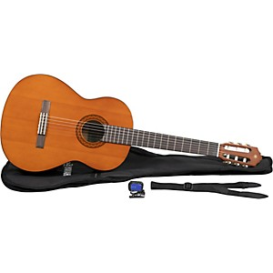 Yamaha-C40-Gigmaker-Classical-Acoustic-Guitar-Pack--Natural--Standard