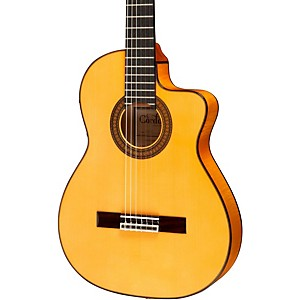 Cordoba-55FCE-Thinbody-Acoustic-Electric-Nylon-String-Flamenco-Guitar-Standard