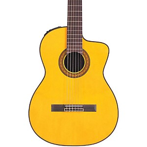 Takamine-TC132SC-Acoustic-Electric-Nylon-String-Guitar-Natural