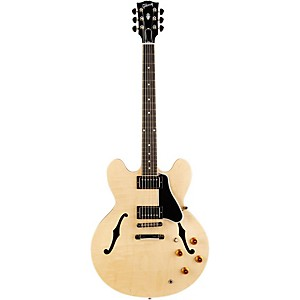 Gibson-ES-335-Dot-Figured-Top-Electric-Guitar-with-Gloss-Finish-Antique-Natural