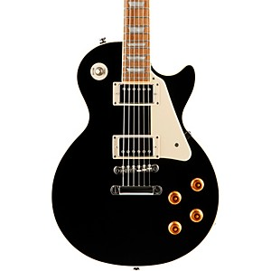 Epiphone-Les-Paul-Standard-Plain-Top-Electric-Guitar-Ebony