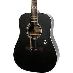 Epiphone-DR-100-Acoustic-Guitar-Black