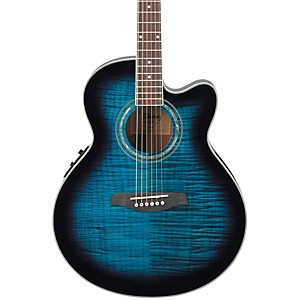 Ibanez-AEL20ENT-Acoustic-Electric-Guitar-Transparent-Blue-Sunburst
