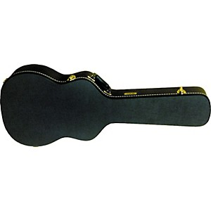 Gold-Tone-Beard-Resonator-Hard-Case-Round-Neck