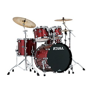 TAMA-Starclassic-Performer-B-B-4-Piece-Shell-Pack-Crimson-Sparkle
