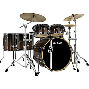 Tama-Superstar-Hyper-Drive-SL-6-piece-Shell-Pack-Dark-Mocha-Fade