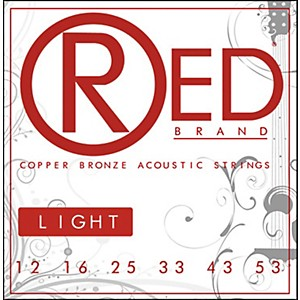 Red-Strings-Copper-Bronze-Acoustic-Guitar-Strings---Light-Standard