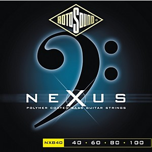 Rotosound-Nexus-Polymer-Extra-Light-Coated-Bass-Strings-Standard