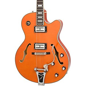 Epiphone-Emperor-Swingster-Hollowbody-Electric-Guitar-Sunrise-Orange