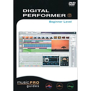 Hal-Leonard-Digital-Performer-6--Beginner-Level---Music-Pro-Guides--DVD--Standard