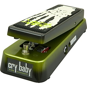 Dunlop-KH95-Kirk-Hammett-Signature-Cry-Baby-Wah-Guitar-Effects-Pedal-Black-and-Green