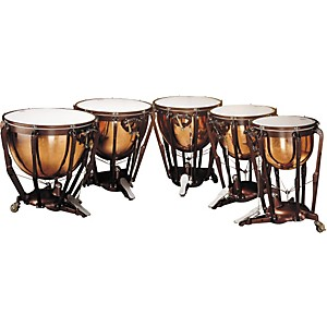 Ludwig-LKP505PG-Professional-Polished-Copper-Timpani-Set-of-5-Standard