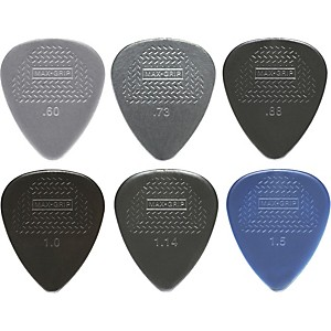 Dunlop-Nylon-Max-Grip-Guitar-Picks---12-Pack-0-60-mm