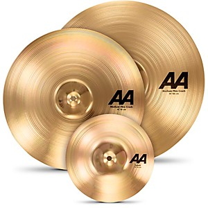 Sabian-AA-Crash-Cymbal-Set-with-Free-10--Splash-Standard