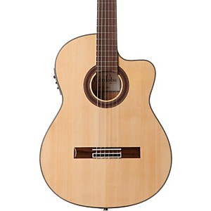 Cordoba-GK-Studio-Acoustic-Electric-Nylon-String-Flamenco-Guitar-Natural