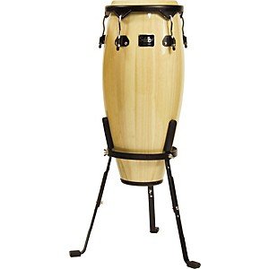 Schalloch-Linea-50-Conga-with-Stand-Black-Hardware-Natural-10-Inch-Quinto