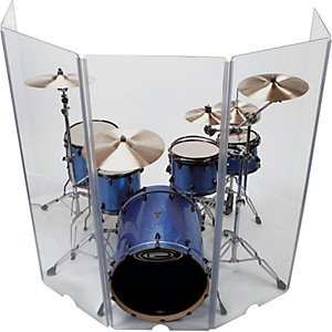 Control-Acoustics-5-piece-Acrylic-Drum-Shield-Standard