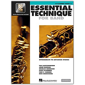 Hal-Leonard-Essential-Technique-2000-for-B-Flat-Clarinet--Book-3-with-CD--Standard