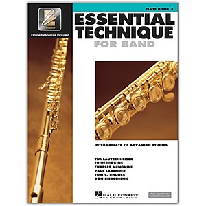Hal-Leonard-Essential-Technique-2000-for-Flute--Book-3-with-CD--Standard