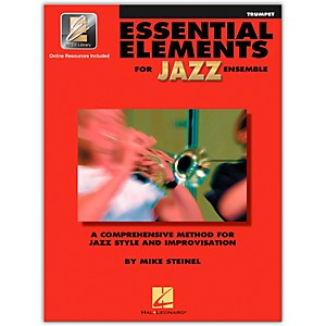 Hal-Leonard-Essential-Elements-Jazz-Ensemble-for-Trumpet--Book-with-2-CDs--Standard