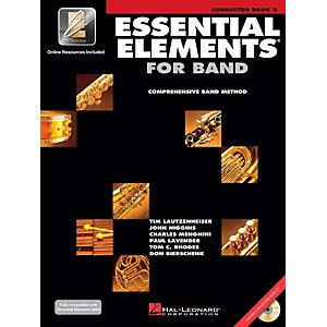 Hal-Leonard-Essential-Elements-for-Band-Conductor--Book-2-with-CD--Standard