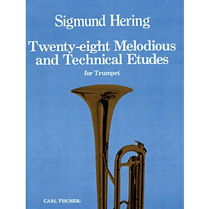 Carl-Fischer-28-Melodious-and-Technical-Etudes-for-Trumpet-Standard