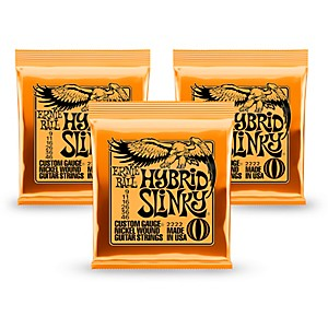 Ernie-Ball-2222-Nickel-Hybrid-Slinky-Orange-Electric-Guitar-Strings-3-Pack-Standard