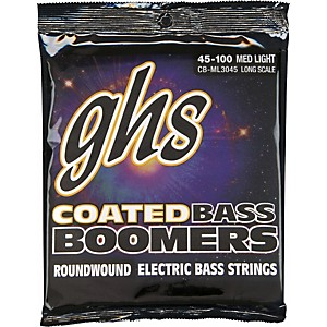 GHS-ML3045-Coated-Boomers-Medium-Light-Bass-Strings-Standard
