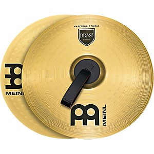 Meinl-Brass-Marching-Medium-Cymbal-Pair-16-inch