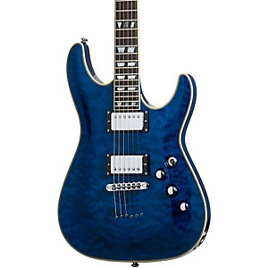 Schecter-Guitar-Research-C-1-Custom-Electric-Guitar-See-Thru-Blue