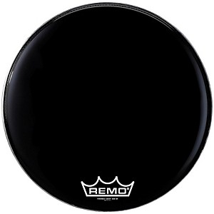 Remo-POWERMAX-EBONY-MARCHING-BASS-HEAD-14-inch