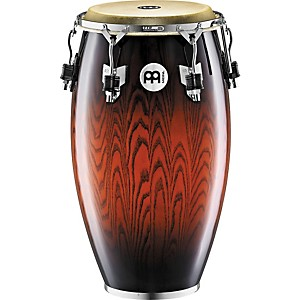Meinl-Woodcraft-Tumba-Conga-Drum-ANTIQUE-MAHOGANY-BURST-12-1-2-inch