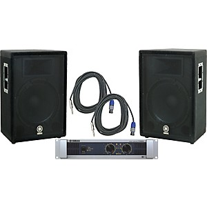 Yamaha-A15--P5000S-Speaker---Amp-Package-Standard