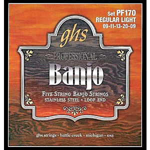 GHS-Stainless-Steel-5-String-Banjo-Strings---Light-Standard
