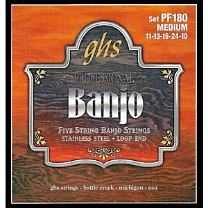 GHS-Stainless-Steel-5-String-Banjo-Strings---Medium-Standard