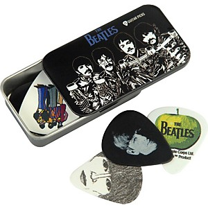 Planet-Waves-Beatles-Sgt--Pepper-s-Pick-Tin---15-Medium-Picks-Standard